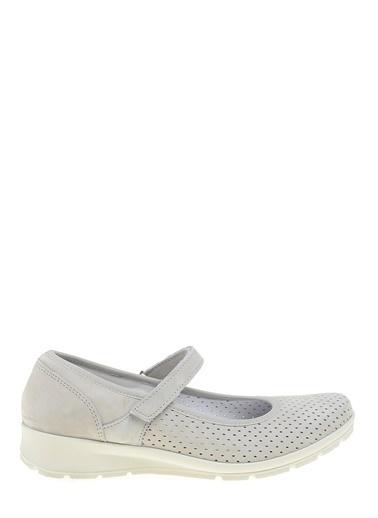 Divarese Düz Renk Sneakers Ayakkabı Beyaz